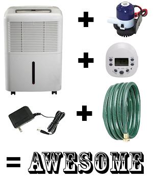 DIY Self-Draining Humidifier Conversion