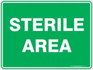 Sterile area