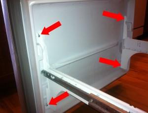Whirlpool Gold Refrigerator Leaking Water Onto Floor