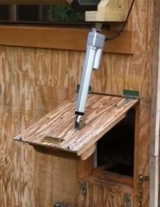 Motorised En Door This Sy Design Is Easy & Motorised Chicken Door u0026 Metal Chicken Door / Pop Hole Door